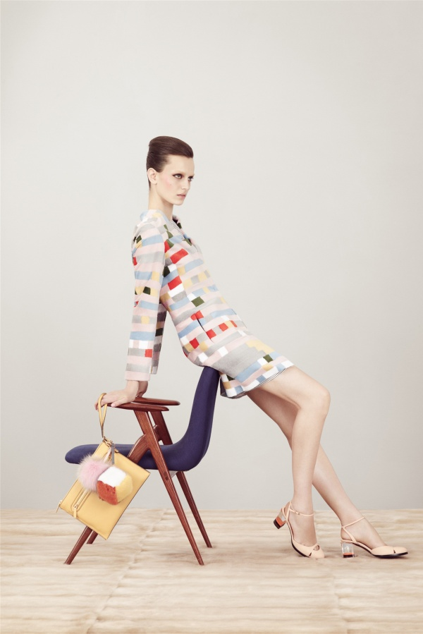 Fendi Pre Spring 2013 collection