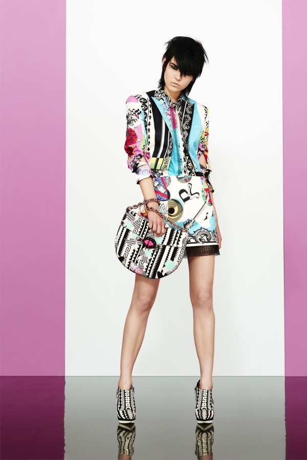 Versace Pre Spring 2013 collection