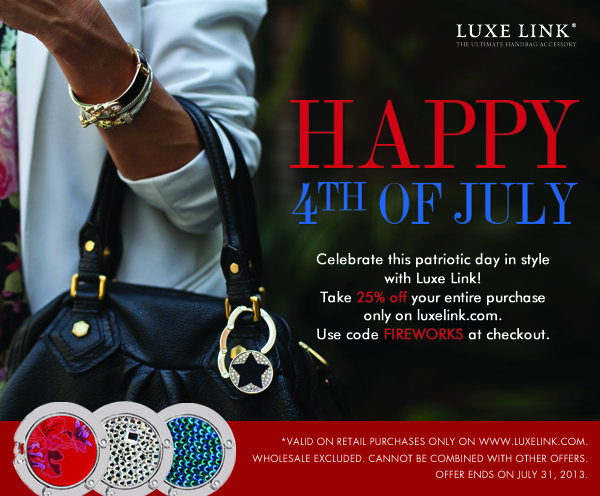 Luxe Link 4th of July Sale 2013!